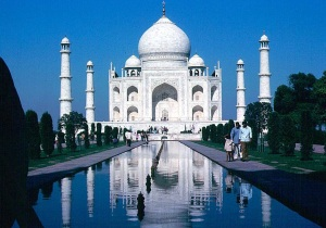 TAJMAHAL- ONE OF THE MAGNIFICENT AND WONDEROUS MONUMENTS CREATED BY A MAN.